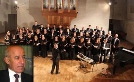 Ermeni Kilisesi Korosu'ndan Münih'te konser