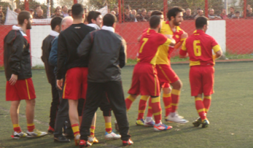 Taksimspor-Zeytinburnuspor maçı tatil edildi