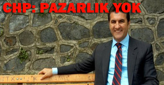 CHP: Sarıgül'le pazarlık yok