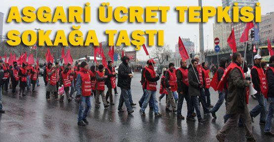 İşçiler Ak Parti'ye yürüdü