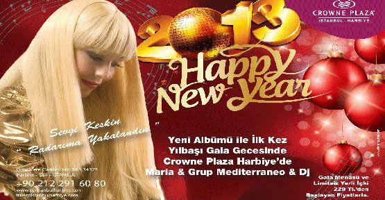 Crowne Plaza İstanbul Harbiye'de yeni yıla yeni albümle girin