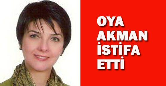 CHP Kadın Kollar Başkanı istifa etti