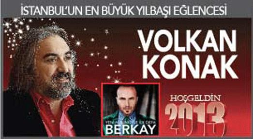 Cevahir'de Berkay ve Volkan Konak ile yılbaşı partisi