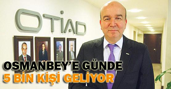 Osmanbey'e günde 5 bin müşteri geliyor