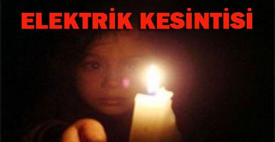 Osmanbey yeni yıla elektriksiz girecek