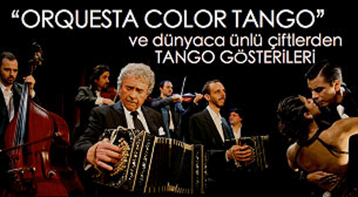 En iyi tango orkestrası İstanbul'a geliyor