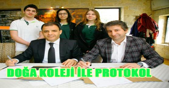 Doğa Koleji ile protokol