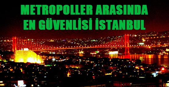 Metropoller arasında en güvenlisi İstanbul