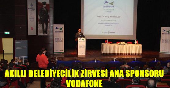 Akıllı Belediyecilik Zirvesi Ana Sponsoru Vodafone
