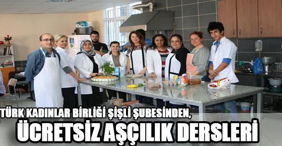Ücretsiz aşçılık dersleri