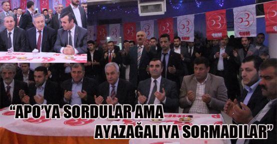 MHP Ayazağa'dan AKP'yi Topa Tuttu