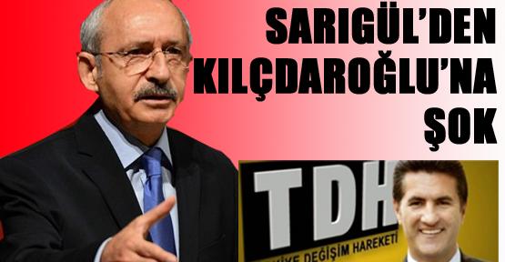 Sarıgül'den Kılıçdaroğlu'na büyük şok