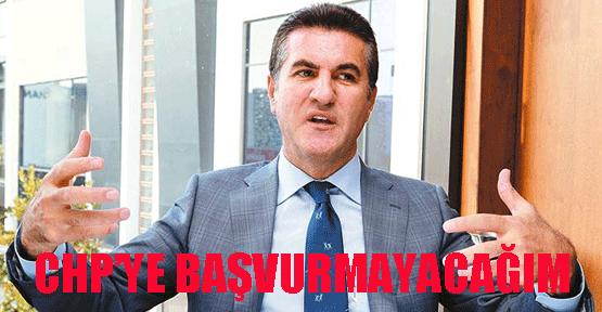 Sarıgül: CHP'ye Başvurmayacağım
