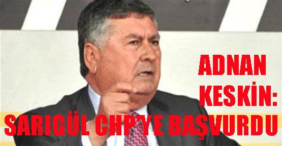 Sarıgül CHP'ye başvurdu