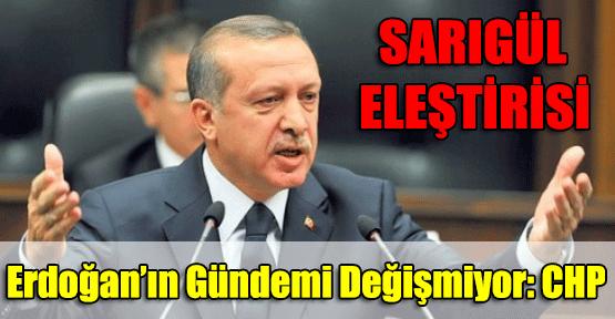 Erdoğan'dan Sarıgül Eleştirisi