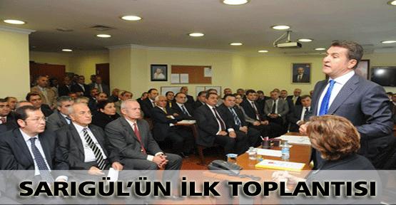 Sarıgül İlk CHP Toplantısını Yaptı