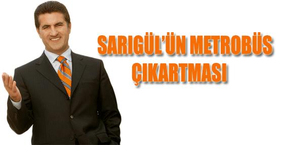 Mustafa Sarıgül Metrobüste