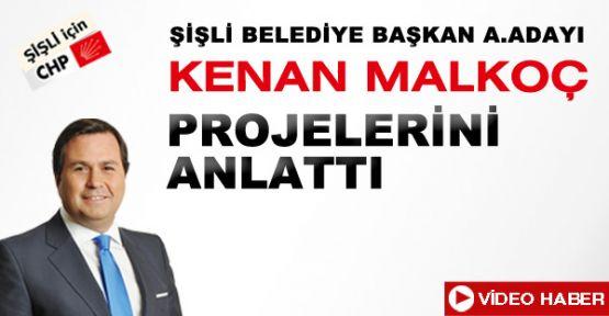 Kenan Malkoç projelerini anlattı