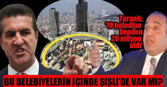 Şişli Belediyesi de Emrullah Turanlı'dan rüşvet aldı mı?