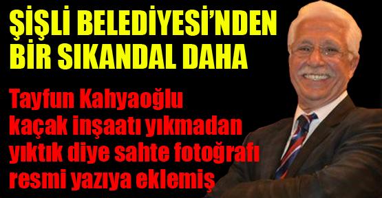 Tayfun Kahyaoğlu sahte belge düzenlemiş