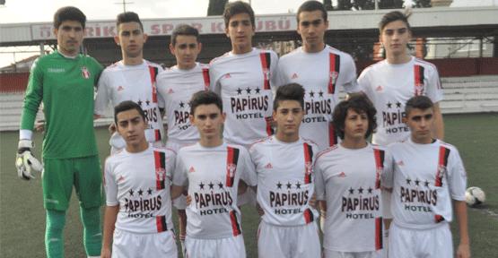 Feriköyspor U16 takımından İfaspor galibiyeti