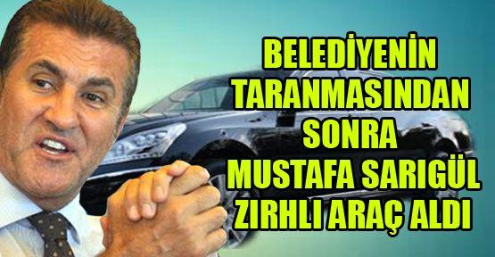 Şişli Belediyesi'nin taranmasından sonra Sarıgül zırhlı araç aldı