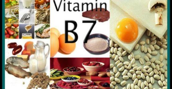 Saç, deri ve tırnak sağlığında B7 vitamini