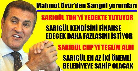 Övür'den Sarıgül CHP'yi teslim aldı iddiası