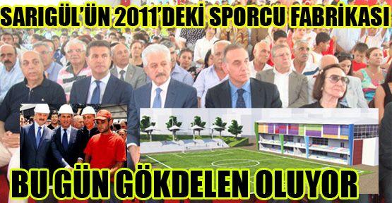 Sarıgül'ün 2011 yılındaki 'sporcu fabrikası' gökdelen oluyor