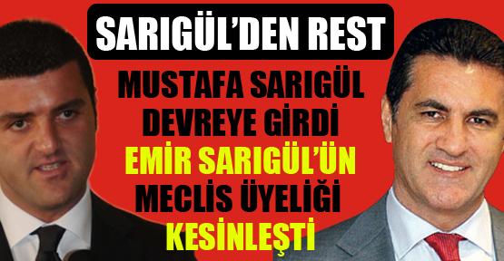 Mustafa Sarıgül oğlu Emir için resti çekti