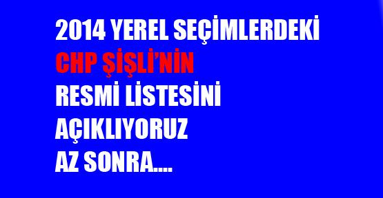 CHP'nin resmi meclis listesini açıklıyoruz. Az sonra...