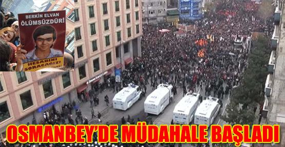 Osmanbey'de müdahale başladı!
