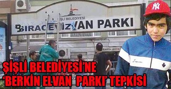 Şişli Belediyesi'ne  'Berkin Elvan' tepkisi