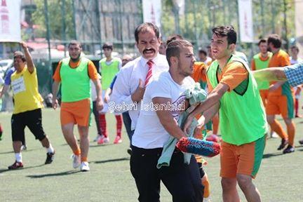 Yenişehir-Gelişim maçı 44′te tatil edildi