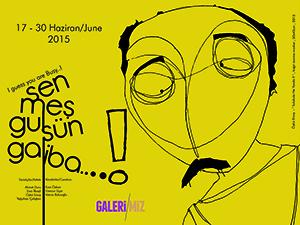 """Galeri/Miz, """" Sen Meşgulsün Galiba...! """" adlı sergiye ev sahipliği yapıyor."""