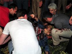 Malatya'da çayevinde tüp patladı