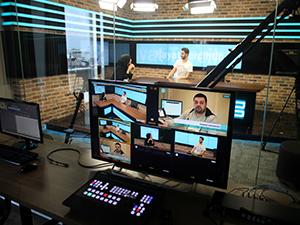 Üsküdar Üniversitesi'nde Radyo-Tv stüdyoları kuruldu