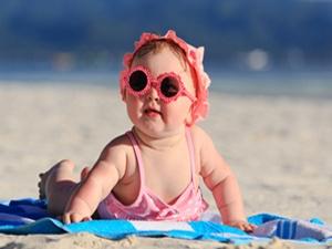 Bebeğinize güneş koruyucu krem sürmeyin !