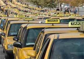 Taksicileri koruyacak sistem: Panik buton