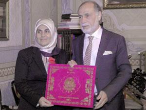 AK Parti Şişli Kadın Kolları Başkanı Habibe Macit'ten Darülaceze'ye ziyaret