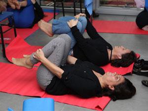 Şişli Belediyesi çalışanlarına özel, yoga terapisi