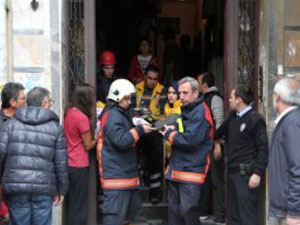 Şişli'de asansör halatı koptu: 2 yaralı