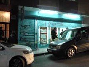 Şişli'de bir marketi soyan hırsızlar kayıplara karıştı