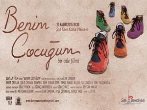 'Benim Çocuğum' 23 Kasım'da Şişli Kent Kültür'de
