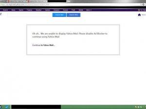 Yahoo Mail reklam engelleyen kullanıcıları engelliyor!