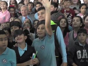 Şişli' de 420 çocukla dünya rekoru çalışması