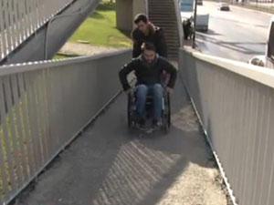 Şişli' nin Engelliler Günü utancı