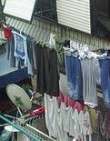 Çamaşır makineleri çöpe!