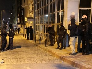 Grup Yorum üyeleri Şişli'de gözaltına alındı