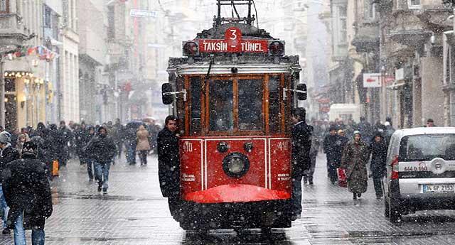 İstanbul yeni yıla karla girecek